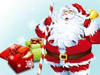 Weihnachtsmann mit Geschenken���oriartiste, Anja Kaiser � Fotolia.com