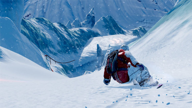 Sportspiel SSX: Griff © Electronic Arts