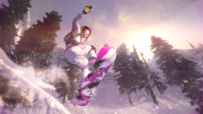 Sportspiel SSX: Pink © Electronic Arts