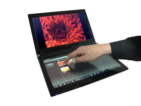 Dual-Display-Notebook Acer Iconia © COMPUTER BILD