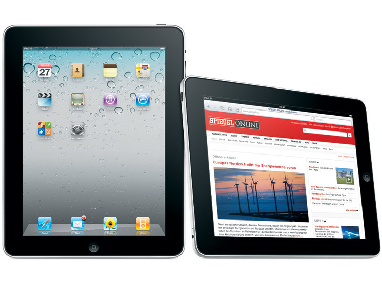 apple ipad bei media markt zum sonderpreis computer bild. Black Bedroom Furniture Sets. Home Design Ideas