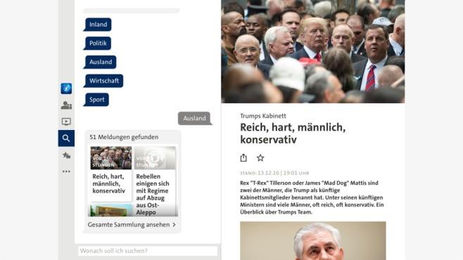 Tagesschau-App ©COMPUTER BILD