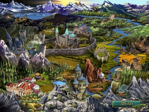 Wimmelbild-Spiel: Age of Oracles – Tara's Journey © Intenium