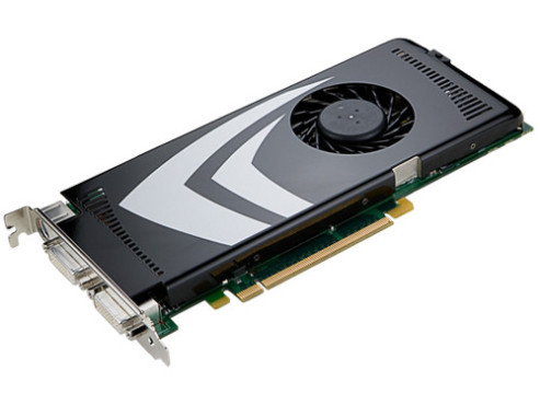 Nvidia Geforce 9600GT © Nvidia