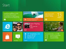 Windows 8 Startzentrale&nbsp;&copy;&nbsp;Microsoft