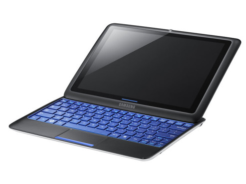 Notebook-Tablet-Zwitter Samsung Sliding PC 7 © Samsung