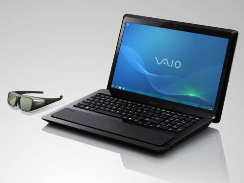 3D-Notebook Sony Vaio F © Sony