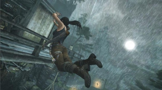 Actionspiel Tomb Raider: Sprung © Square Enix