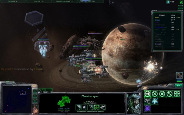 Starcraft 2 Star Battle: Kampf © Blizzard
