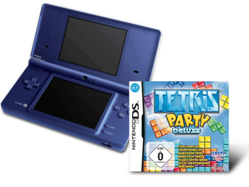 "Nintendo DSi plus ""Tetris Party Deluxe"" © Amazon"