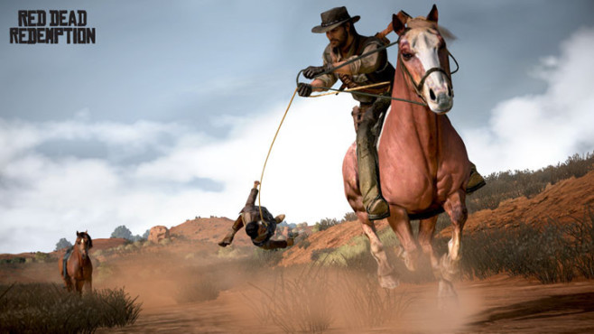 Actionspiel Red Dead Redemption: Galopp © Take-Two