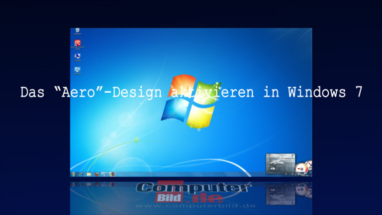 windows 7 aero design aktivieren computer bild