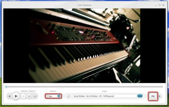 Freemake Video Converter: Wechselintervall einstellen