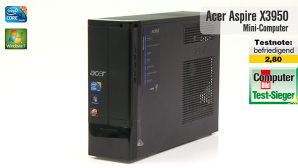 Video zum Testsieger: Acer Aspire X3950