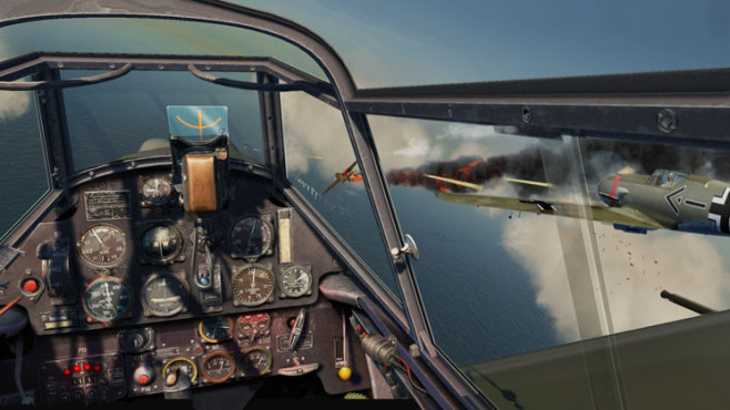 Simulation IL-2 Sturmovik � Cliffs of Dover: Cockpit © Ubisoft