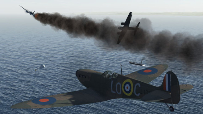 Simulation IL-2 Sturmovik – Cliffs of Dover: Wasser © Ubisoft
