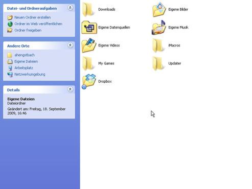 Eigene Dateien zu Dropbox hochladen
