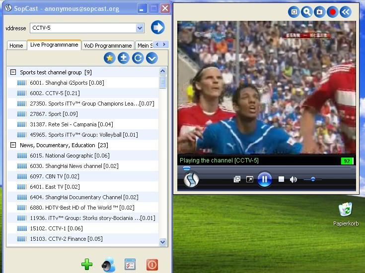 kostenlos fußball schauen im internet
