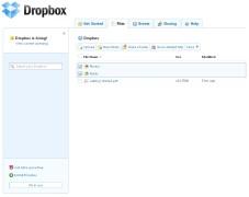 """Mit der """"Dropbox"""" erhalten Sie einen Online-Ordner, den Sie über jeden PC mit Internet-Anschluss erreichen."""