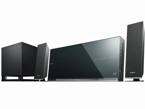 3D-Home-Entertainment-System BDV-F500 © Sony