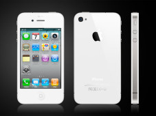Smartphone Apple iPhone 4 mit wei�em Geh�use © Apple