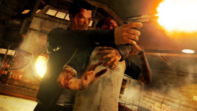 Actionspiel Sleeping Dogs: Ballern © Square Enix