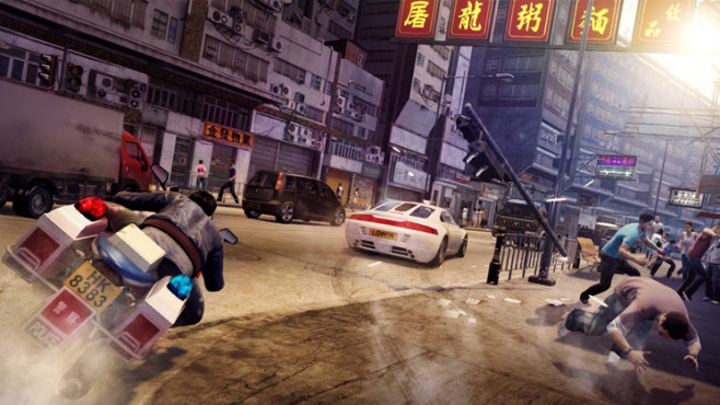 Actionspiel Sleeping Dogs: Moped © Square Enix