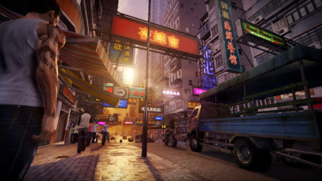 Actionspiel Sleeping Dogs: Stadt © Square Enix