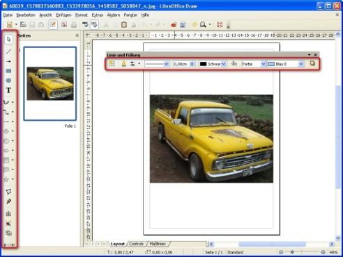 LibreOffice: Symbolleisten neu positionieren
