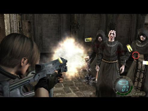 Actionspiel Resident Evil 4 ©Capcom