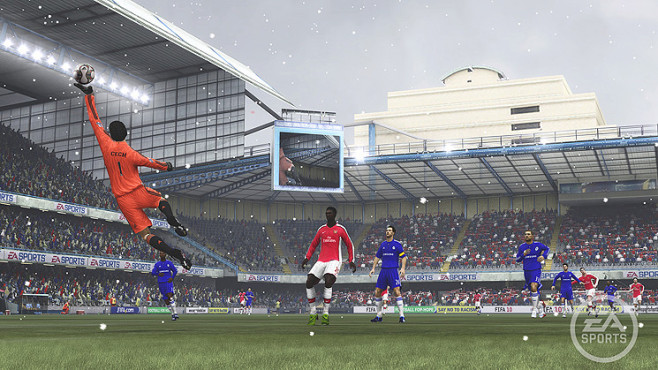 Fußballspiel Fifa 10 ©Electronic Arts