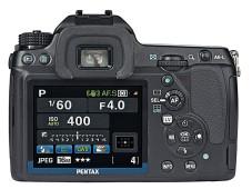 Kontrollmonitor Pentax K-5 ©COMPUTER BILD