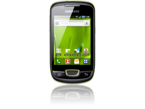 Smartphone Galaxy Mini © Samsung