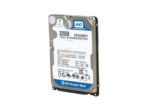 Western Digital Scorpio Blue WD3200BEVT © Western Digital