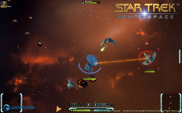 Browserspiel Star Trek � Infinite Space: Andocken © Gameforge