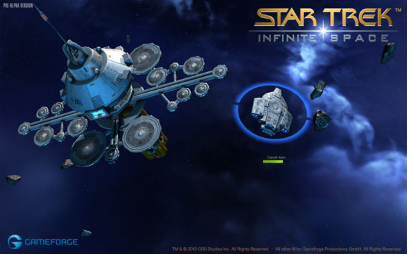 Browserspiel Star Trek – Infinite Space: Andocken © Gameforge