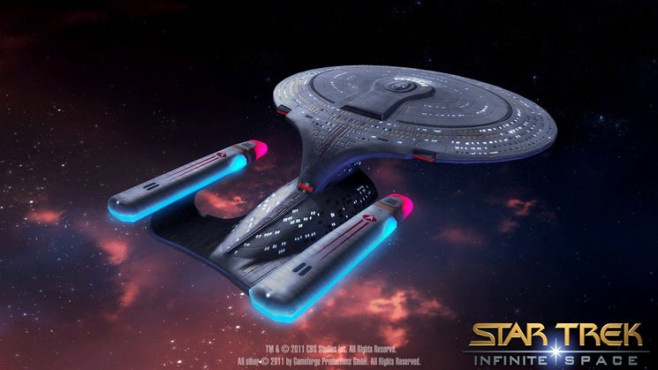 Browserspiel Star Trek – Infinite Space: Enterprise © Gameforge