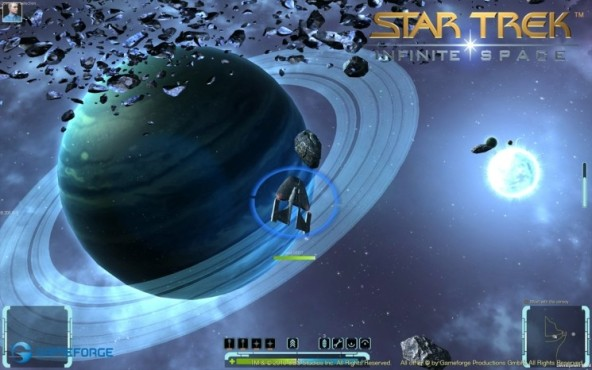 Browserspiel Star Trek – Infinite Space: Planetenringe © Gameforge