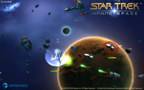 Browserspiel Star Trek – Infinite Space: Schild © Gameforge