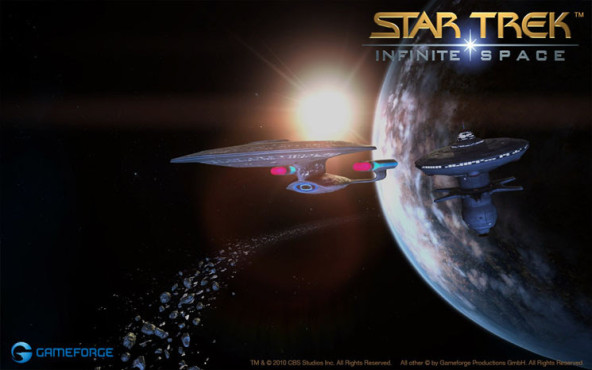 Browserspiel Star Trek – Infinite Space: Sonne © Gameforge