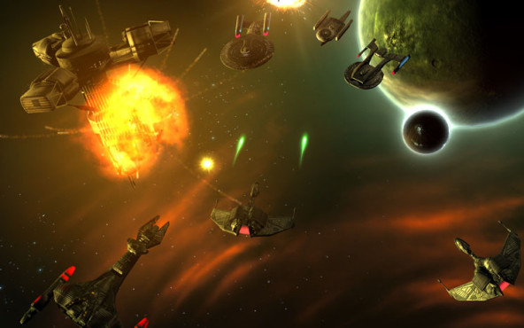 Browserspiel Star Trek – Infinite Space: Weltraumschlacht © Gameforge