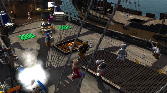Actionspiel Lego Pirates of the Caribbean: © Disney Interactive