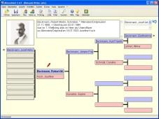 Ahnenblatt: Mit der Gratis-Anwendung �Ahnenblatt� erstellen Sie eine Familiendatenbank und drucken Ahnenlisten und Stammb�ume.