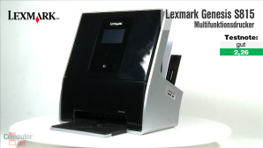 Video zum Test: Multifunktionsdrucker Lexmark Genesis S815