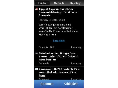 Nokia Reader ©Nokia