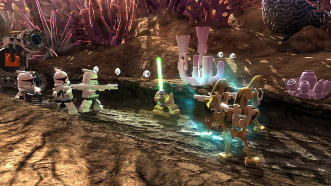 Actionspiel Lego Star Wars 3 – The Clone Wars: Kampf © Activision
