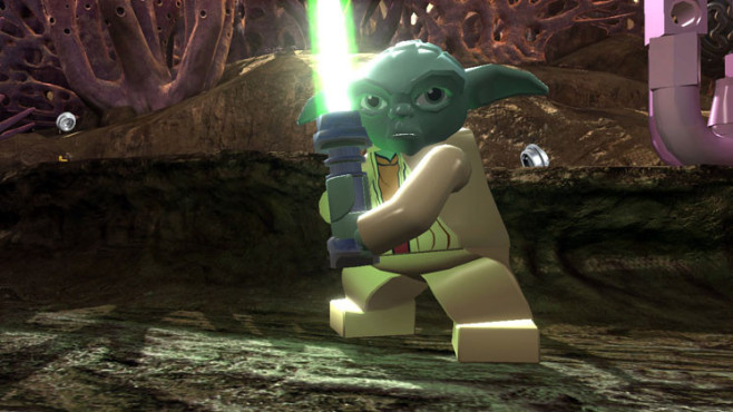 Actionspiel Lego Star Wars 3 – The Clone Wars: Yoda © Activision