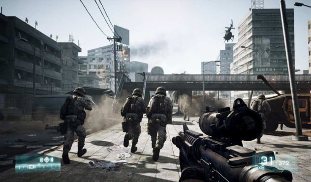 Actionspiel Battlefield 3: HUD © Electronic Arts