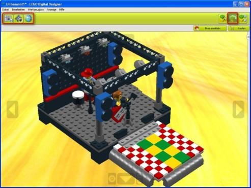 Lego Digital Designer: Modell betrachten