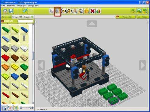 Lego Digital Designer: Steine kopieren